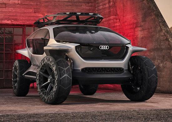 Audi AI-TRAIL quattro Concept | 2019