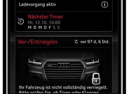 Audi Connect App | 2016