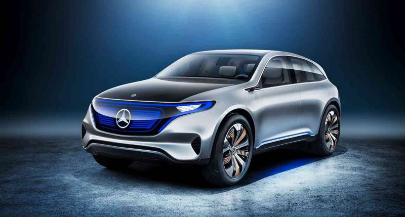 Mercedes-Benz EQ Concept | 2017
