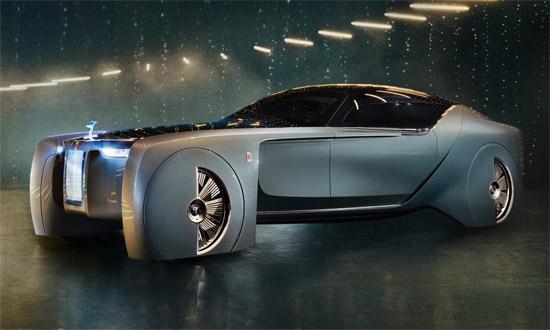 Rolls-Royce Vision Next 100 | 2016