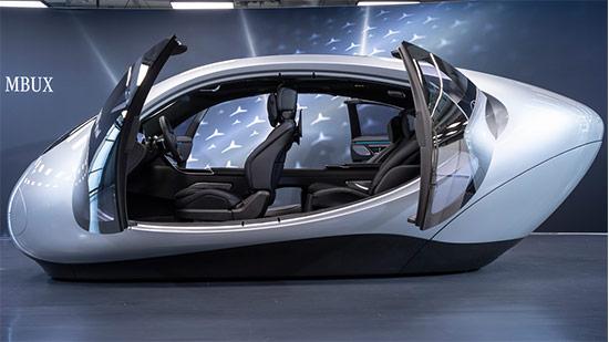 Mercedes MBUX Demonstrator
